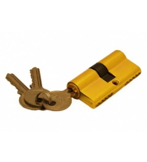 Ключевой цилиндр Arsenal 60мм (ключ-ключ) 3 ключа PB золото