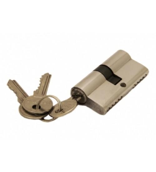 Ключевой цилиндр Arsenal 60мм (ключ-ключ) 3 ключа хром PC