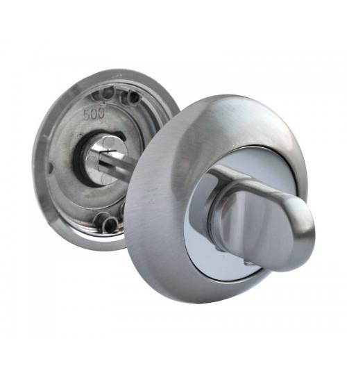 Завертка RUCETTI RAP WC SN/CP белый никель