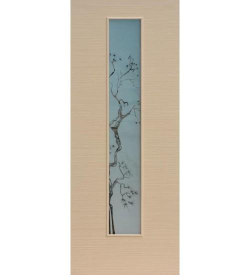 Ламинированная дверь Сакура ПО