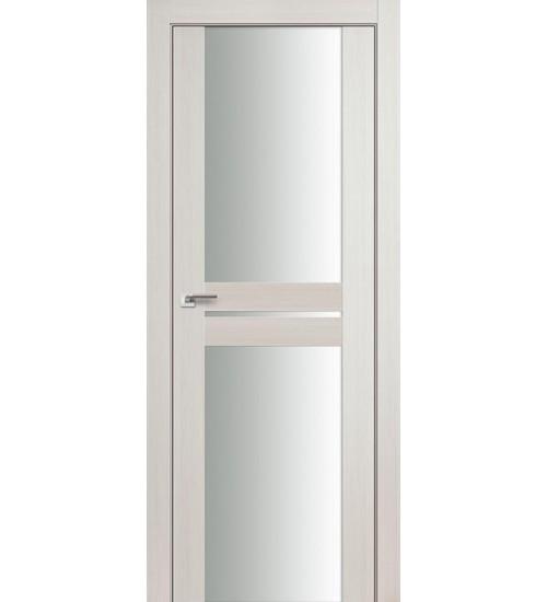 Дверь 10X эшвайт беленый дуб белый триплекс Profildoors