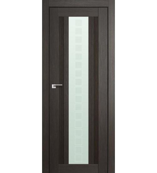 Дверь 16X грей мелинга стекло Квадро Profildoors