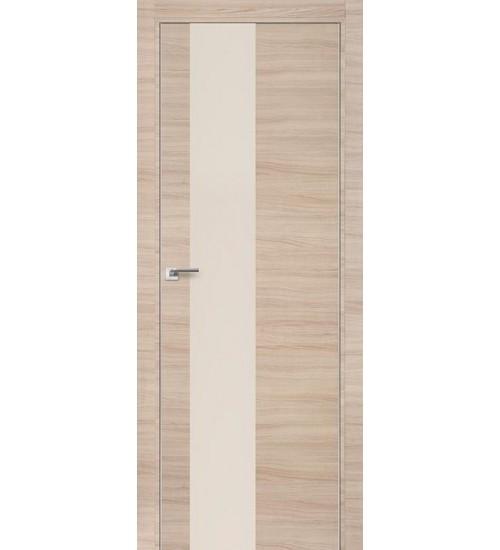 Дверь 5Z AGB Капучино кроскут перламутровый лак Profildoors