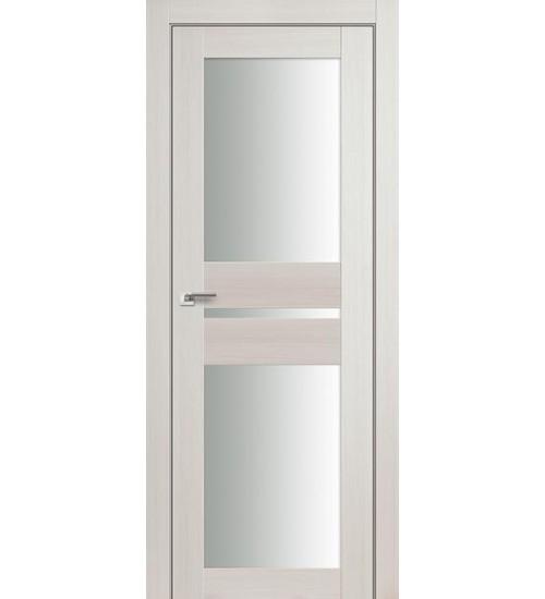 Дверь 70X эшвайт беленый дуб матовое стекло Profildoors