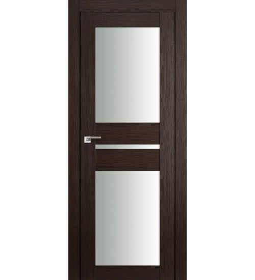 Дверь 70X венге мелинга матовое стекло Profildoors