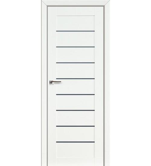 Дверь 73L белый люкс стекло графит Profildoors