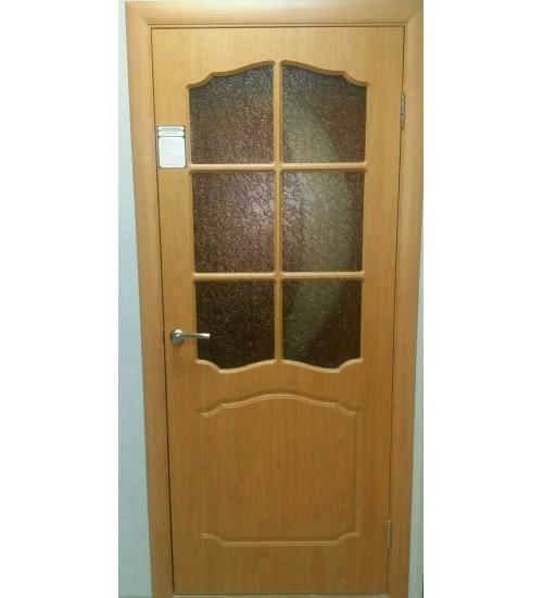 Дверь Классика ПВХ миланский орех