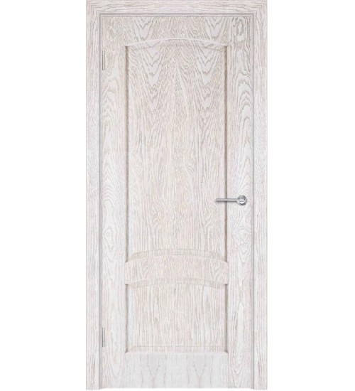 Дверь шпонированная Б1-1 глухая ясень снежинка/Альфа