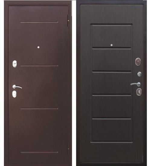 Стальная дверь Гарда 7,5 медь венге