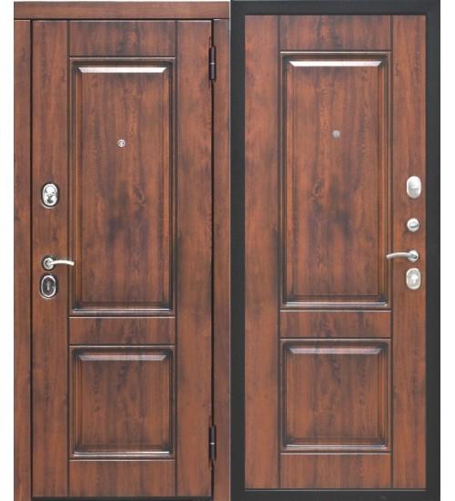 Входная дверь 9,5 см ВЕНА Vinorit Патина МДФ/МДФ грецкий орех
