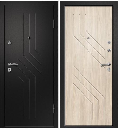 Аризона-215 черный сатин/лиственница светлая