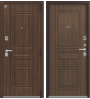 Дверь Центурион, LUX-4 медный муар/миндаль