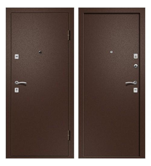 Стальная дверь Ника-100 антик медь