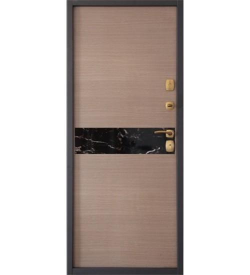 Стальная дверь Аллегро 1,5мм капучино
