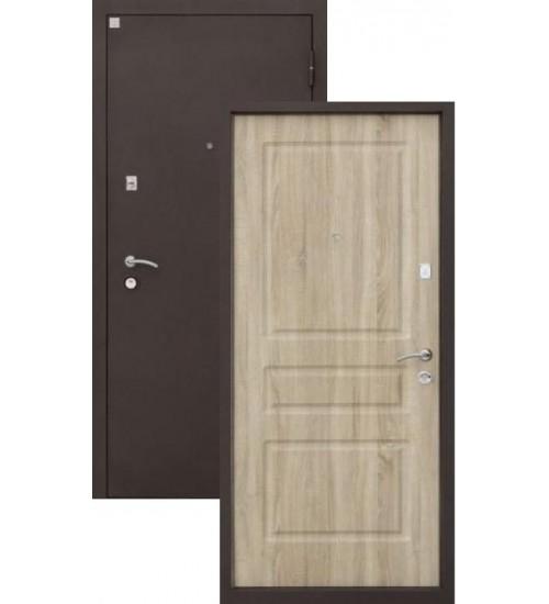 Стальная дверь Алмаз-11 шелк/ель карпатская