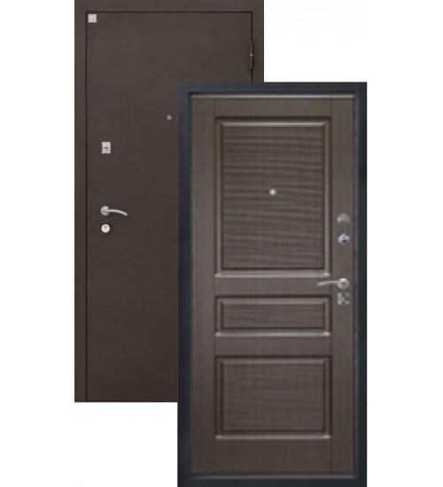 Стальная дверь Алмаз-11 шелк/венге