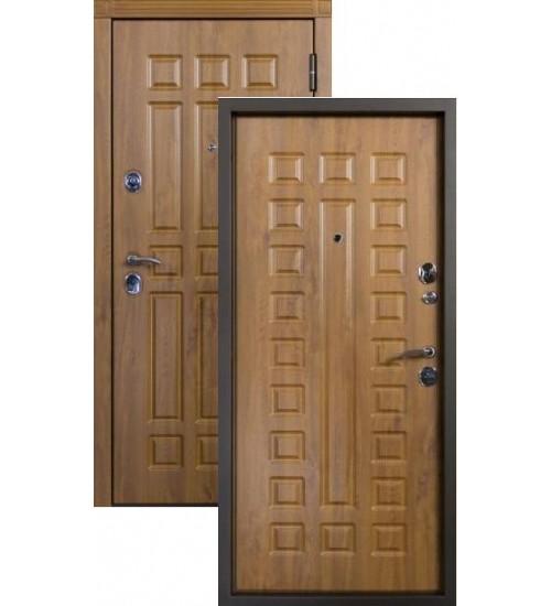 Стальная дверь Алмаз-2 МДФ/МДФ