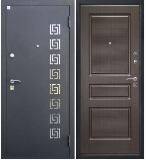 Стальная дверь Аметист Алмаз венге