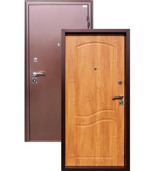 Входная дверь Амур вишня дикая