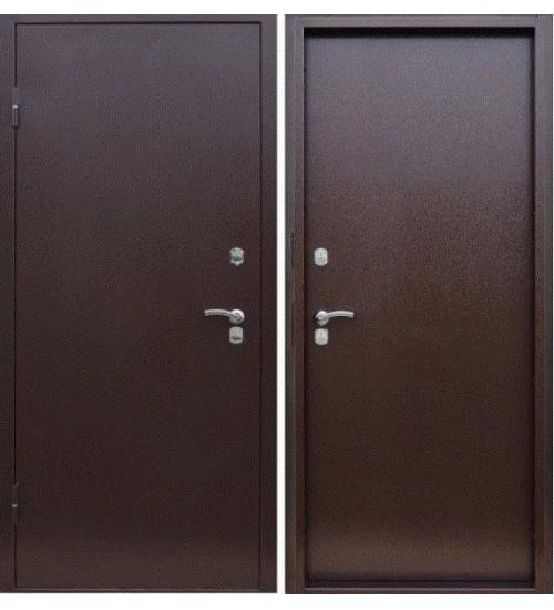 Стальная дверь Базис-М антик медь