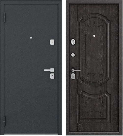 Стальная дверь Бульдорс-24 шелк/мореный дуб
