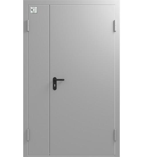 Дверь противопожарная ДМП 01/60 двустворчатая