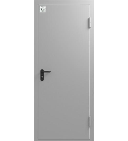 Дверь противопожарная ДМП 01/60 RAL 7035