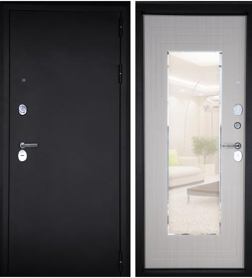 Эталон люкс черный муар/прованс+зеркало