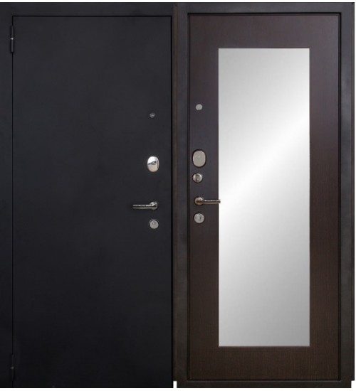 Форт 03Z черный муар/венге с зеркалом