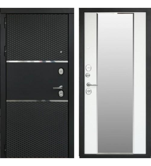 Форт 14Z черный кварц/белый матовый с зеркалом