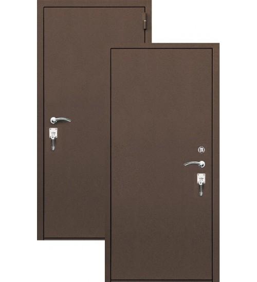 Стальная дверь Форт Т-101 термо антик медь
