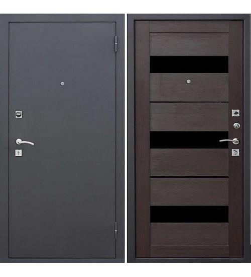 Стальная дверь Гарда царга муар/темный кипарис