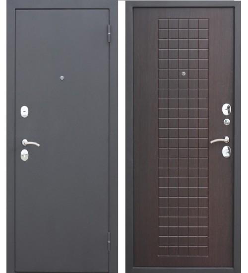 Стальная дверь Гарда муар 8мм венге