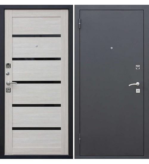 Стальная дверь Гарда муар/лиственница мокко