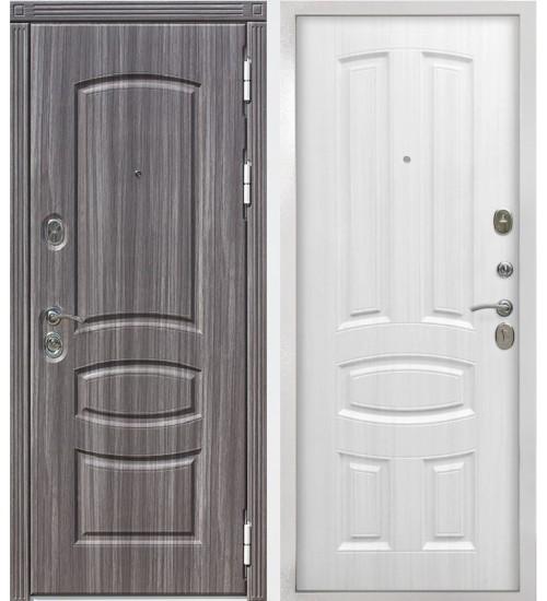 Входная дверь 12 см ГРАНАДА белый ясень