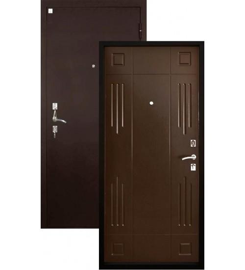 Стальная дверь Гранат шелк