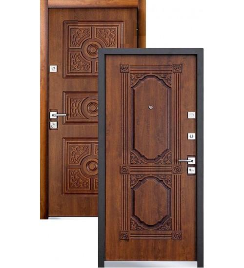 Стальная дверь MASTINO LACIO дуб медовый