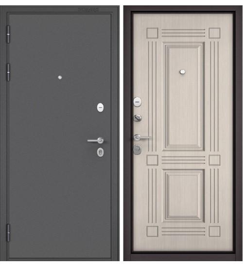 Входная дверь Бульдорс Mass-90 104 букле графит/ларче бьянко