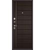 Входная дверь Бульдорс Mass-90 136 букле шоколад/ларче шоколад