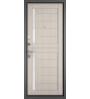 Входная дверь Бульдорс Mass-90 CR-4 букле графит/ларче бьянко