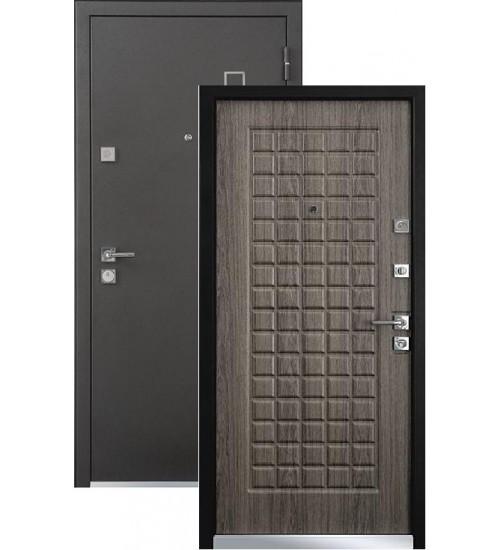 Стальная дверь MASTINO AREA черный шелк