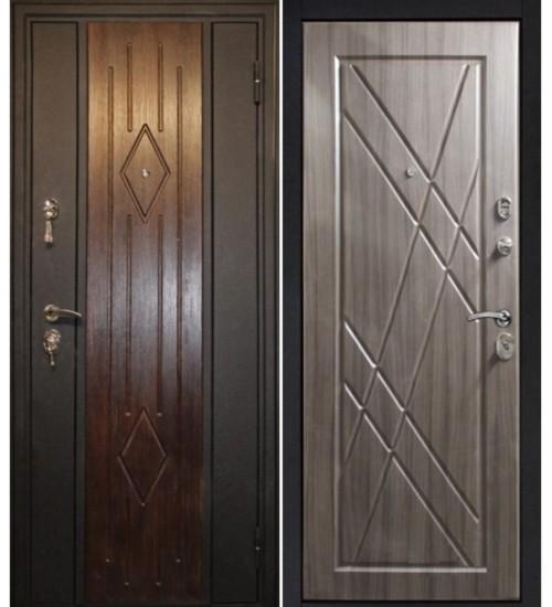 Дверь Алмаз Пегас черный шелк/палисандр