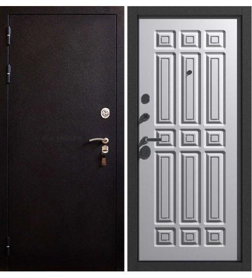 Стальная дверь BERSERKER SUPERTERMA TT3-G301 коричневый муар/крем ДИП