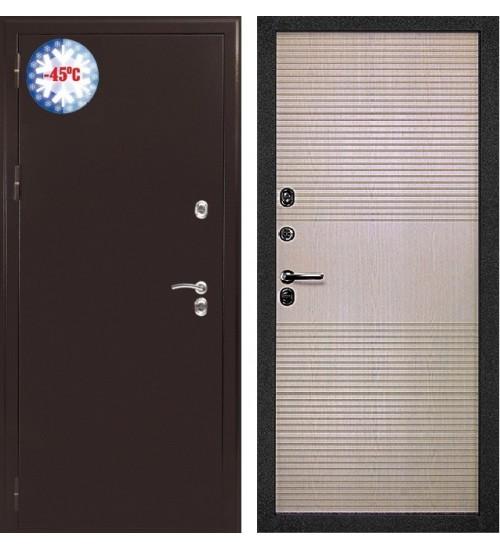 Стальная дверь BERSERKER TT-G 305 (Таймыр- 305) Лиственница