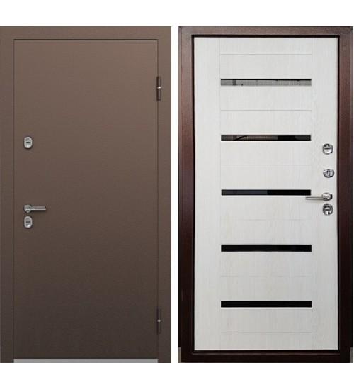 Стальная дверь Термо S-2 медь/лиственница