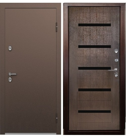 Дверь Термо S-3 медь/орех