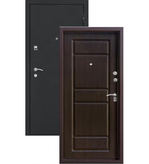 Стальная дверь Топаз-11 шелк/венге