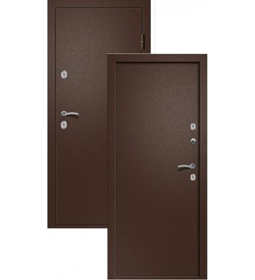 Стальная дверь Триера-1 антик медь термо