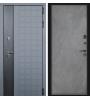 Дверь с терморазрывом Виктория термо софт графит/бетон снежный