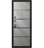 Стальная дверь BERSERKER FLAT STOUT X42 (H2-B301)СОФТ СМОКИ/БЕЛАЯ